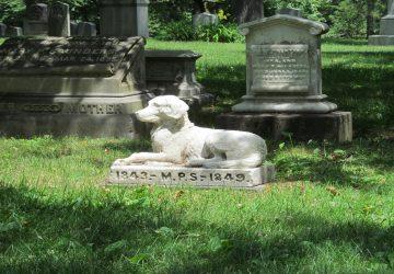 Las leyes de Nueva York permitirán que las mascotas se entierren junto a sus humanos.1920