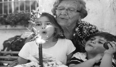 Las abuelas son las estrellas...