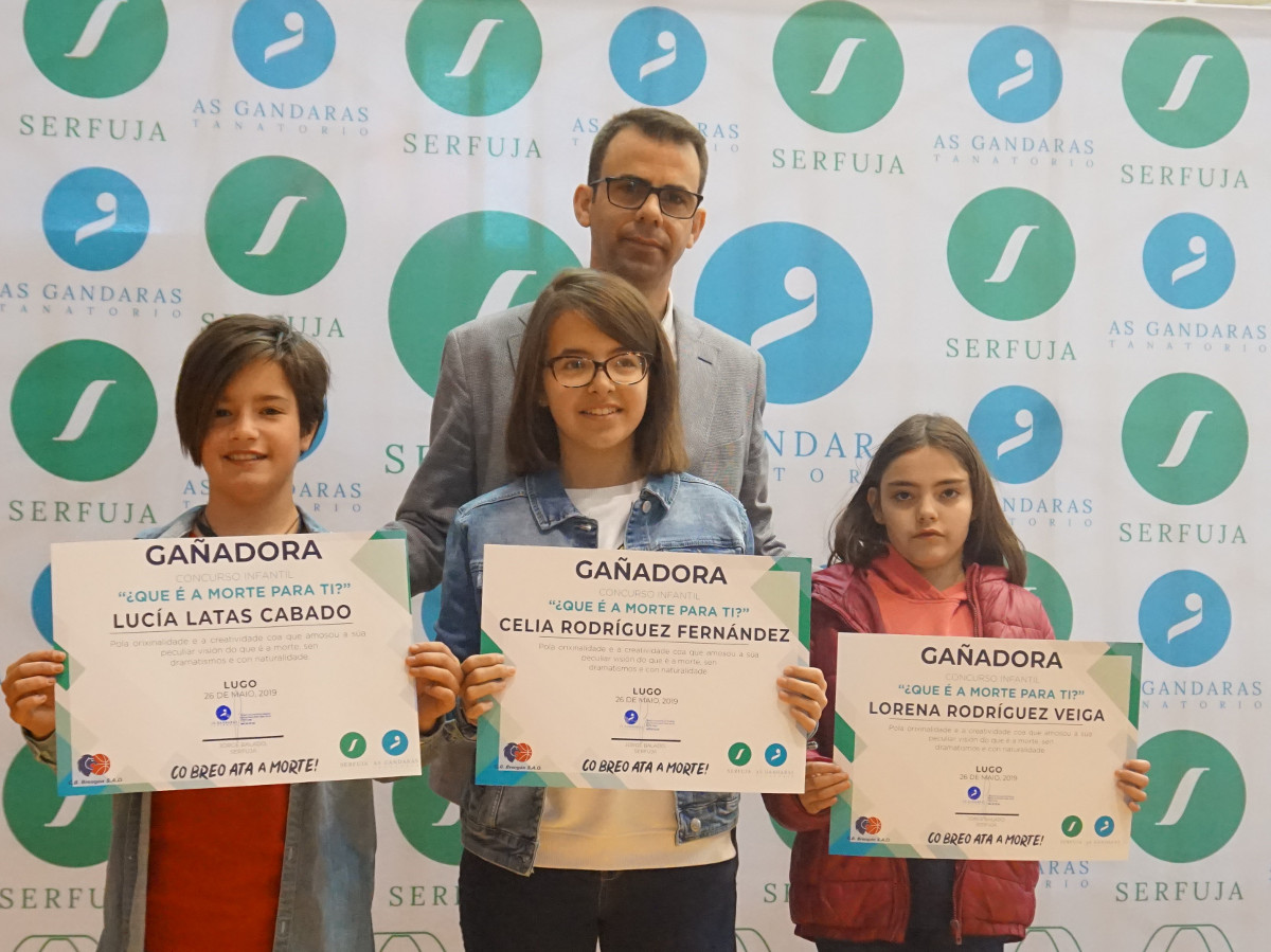 Ganadoras premios Serfuja